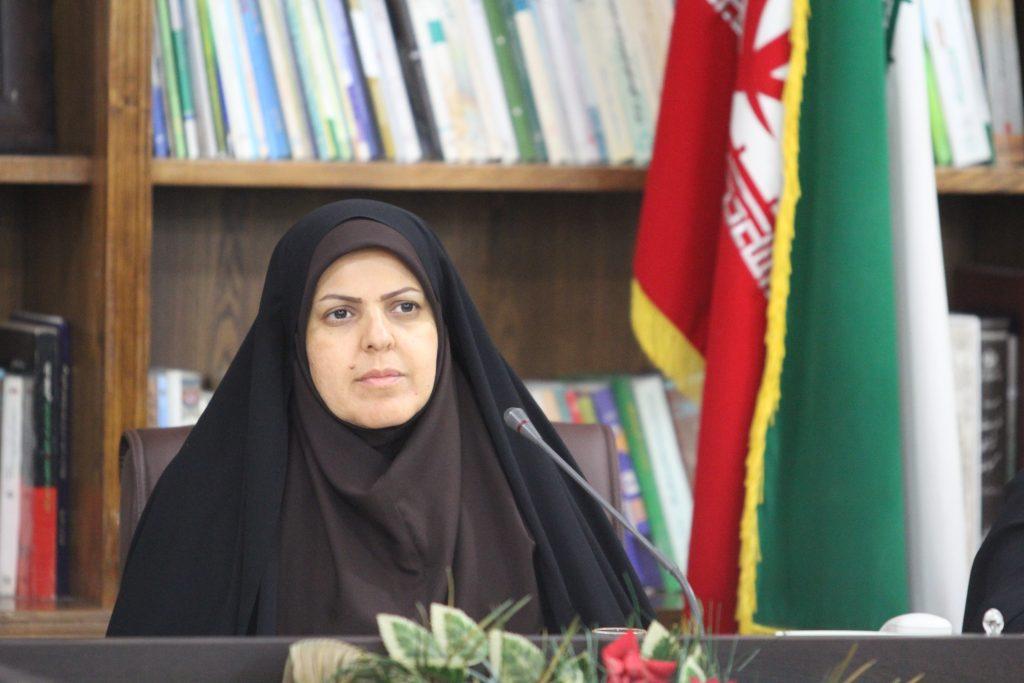 فرانک موسوی مدیر کل امور بانوان استانداری خوزستان